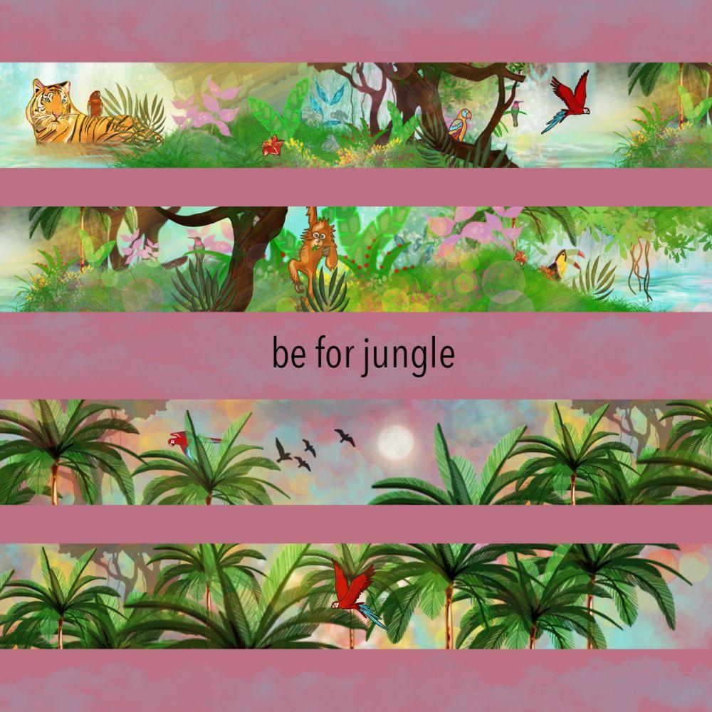 Wzór Be For Jungle