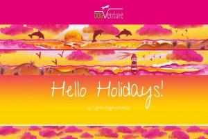 Wzór Hello Holidays
